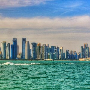Doha Skyline, Evening.jpeg